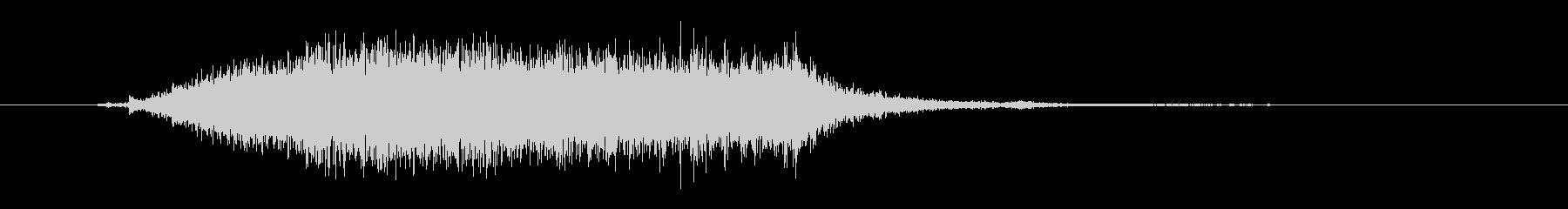 ヘアドライヤー-ショートの未再生の波形