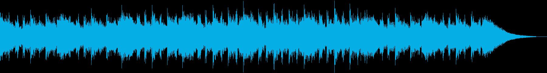 Glitch Textureの再生済みの波形