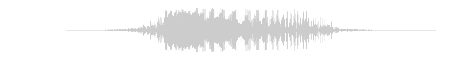 鳴き声 女性ファイトアタックヒット07の未再生の波形
