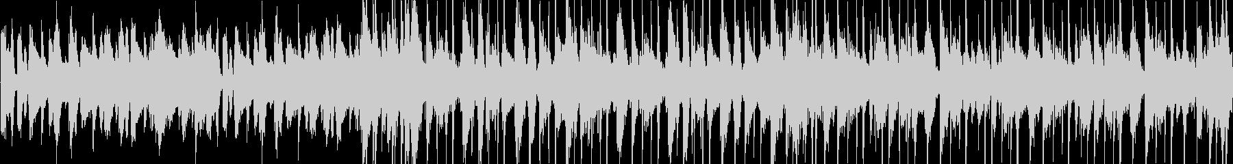 ドラム+ピアノのジャズ風BGMの未再生の波形