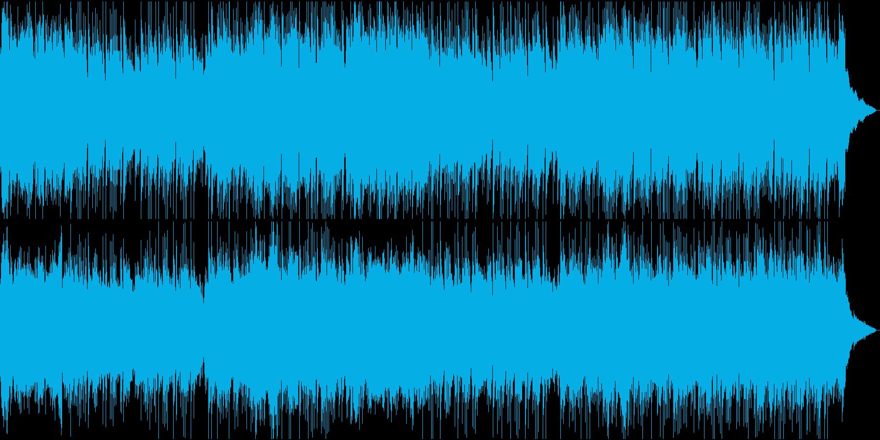 切ないメロディーのワルツの再生済みの波形