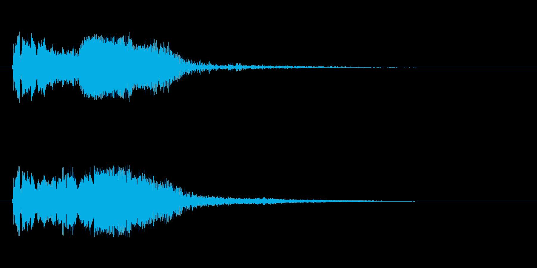 FMラジオジングルキットSWEEPERの再生済みの波形