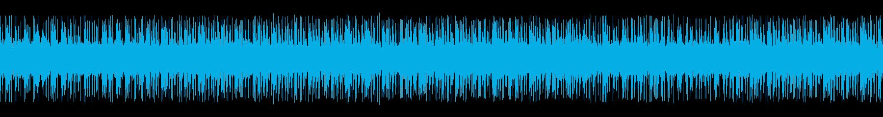 ゲーム映画バトル用攻撃的3-1ループ処理の再生済みの波形