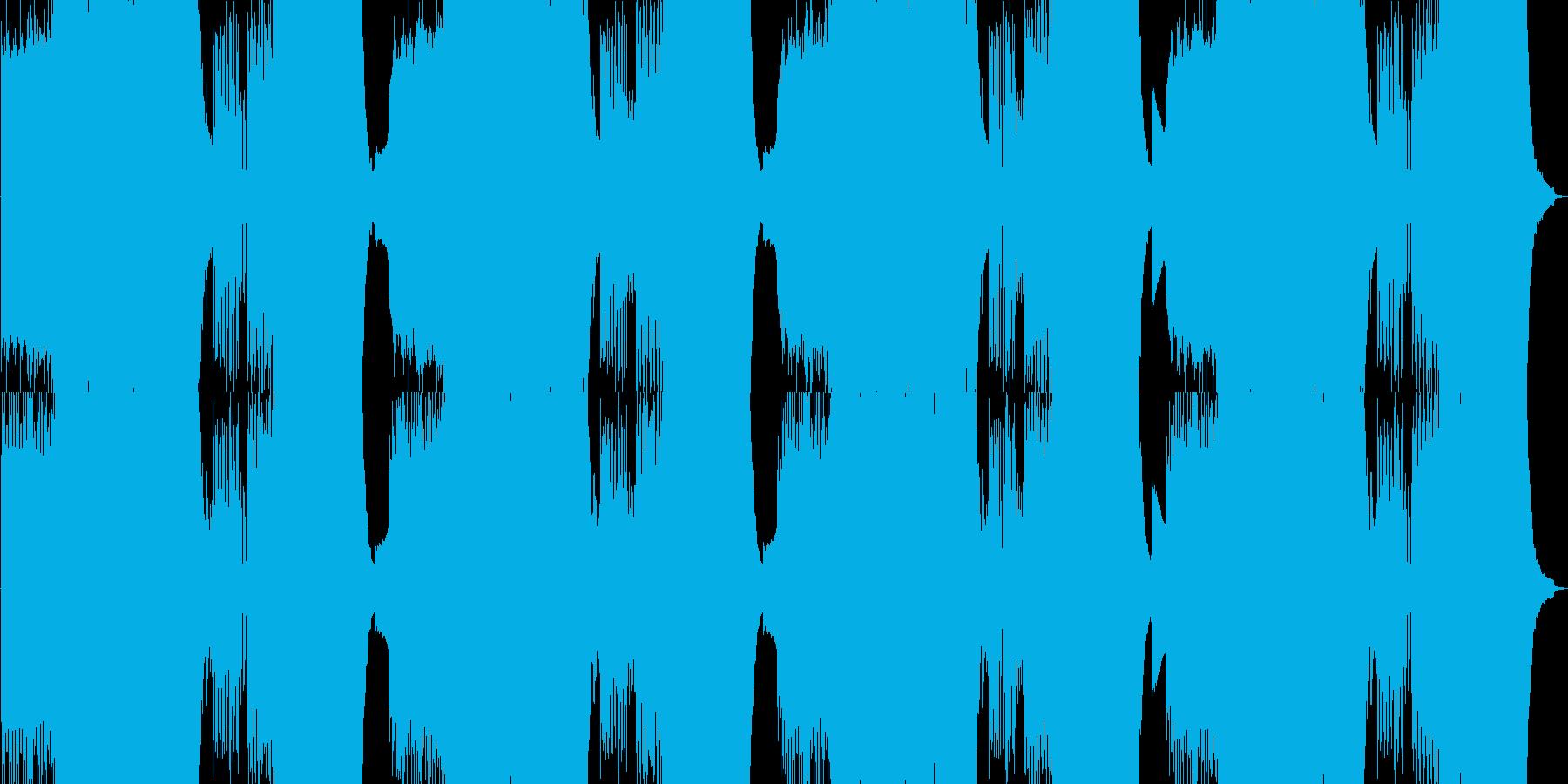 ピアノが乱れ狂う絶望の戦闘曲の再生済みの波形