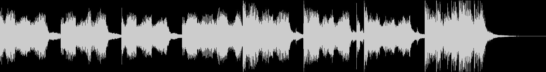おしゃれクールセクシーR&Bエレクトロcの未再生の波形