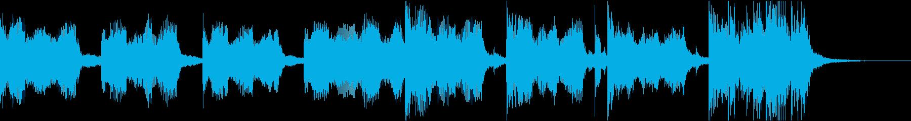 おしゃれクールセクシーR&Bエレクトロcの再生済みの波形