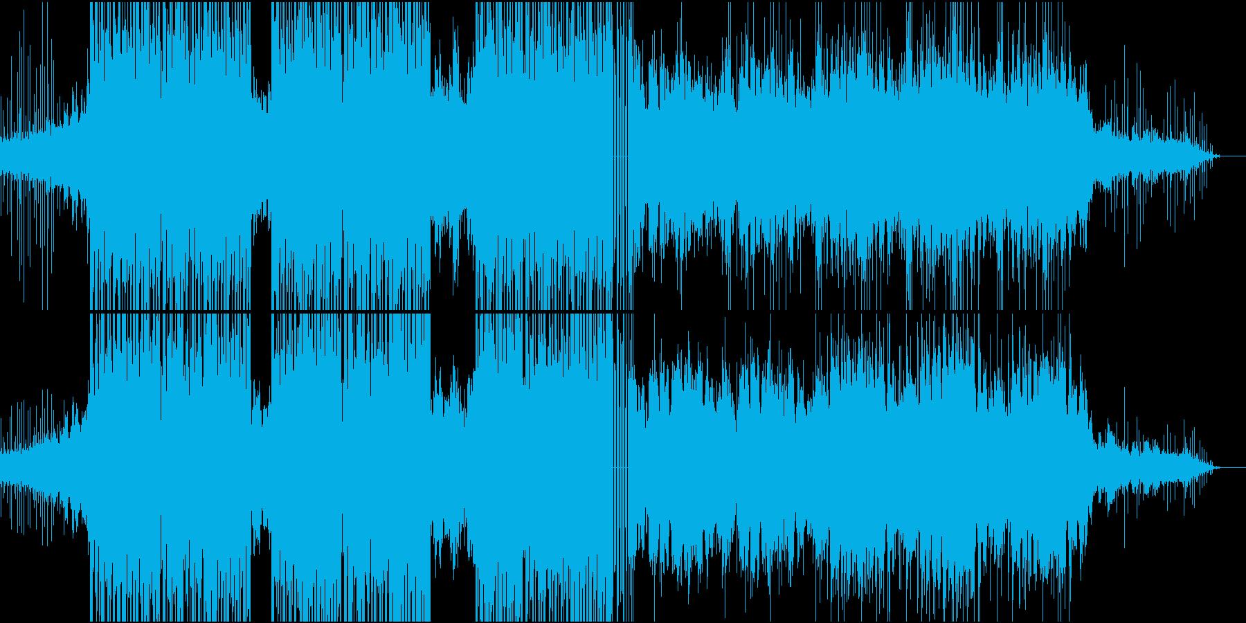 寂しげで綺麗なピアノのバラードの再生済みの波形