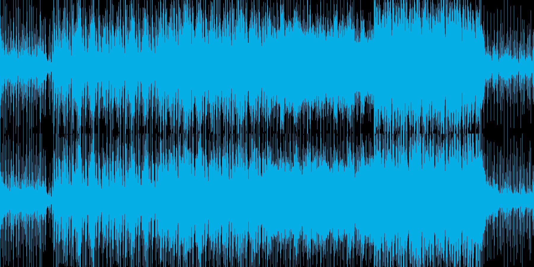 【ループ】和楽器×タブラのゆったりBGMの再生済みの波形
