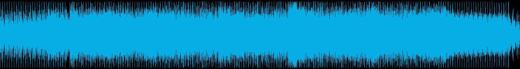 疾走感のある爽快トランス・テクノループの再生済みの波形
