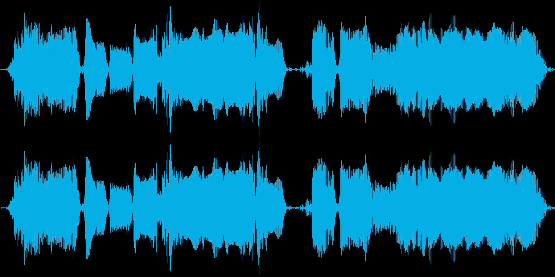 【エレキギター】ワ~クァクァクァクワ~の再生済みの波形