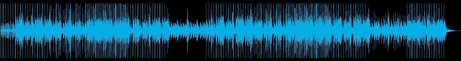 カオス、混乱、不思議、実験音楽の再生済みの波形