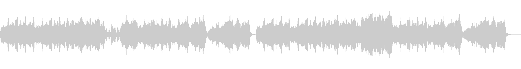 フォーマルで優雅なストリングスのワルツの未再生の波形