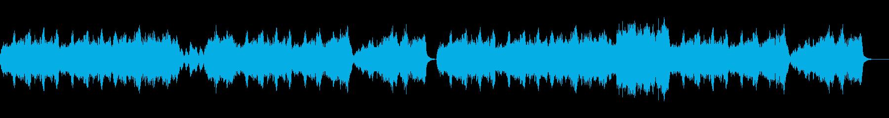 フォーマルで優雅なストリングスのワルツの再生済みの波形
