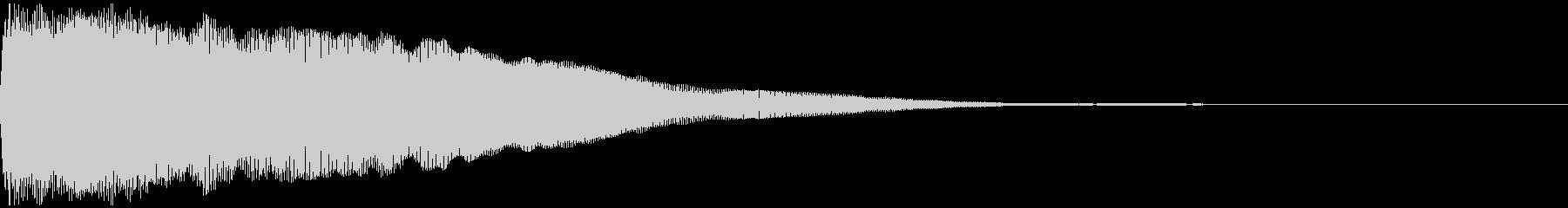 急上昇するボーカルフックを備えた、...の未再生の波形