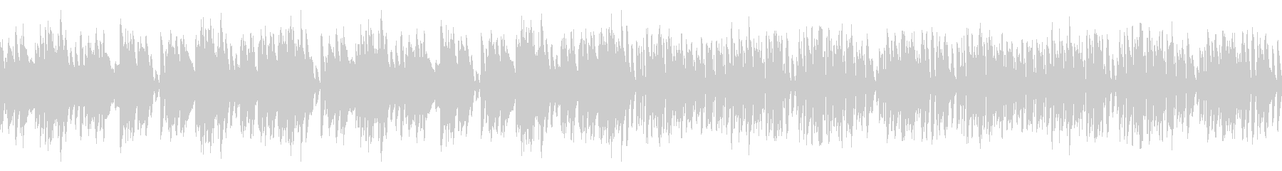 レトロピアノ名曲エンターテイナー(ループの未再生の波形