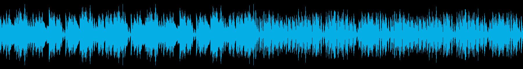レトロピアノ名曲エンターテイナー(ループの再生済みの波形