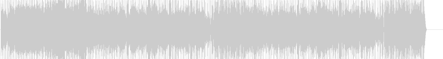 ゲーム音楽風シンセウェーブ楽曲の未再生の波形