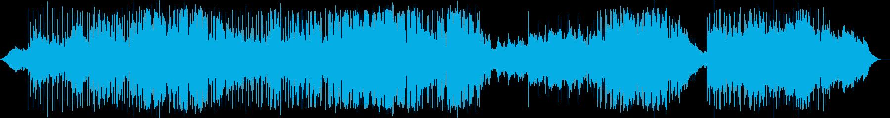英語洋楽:Zep+ポリス・演歌風バラードの再生済みの波形