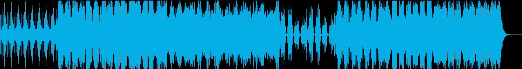 実験的な アンビエント アクティブ...の再生済みの波形