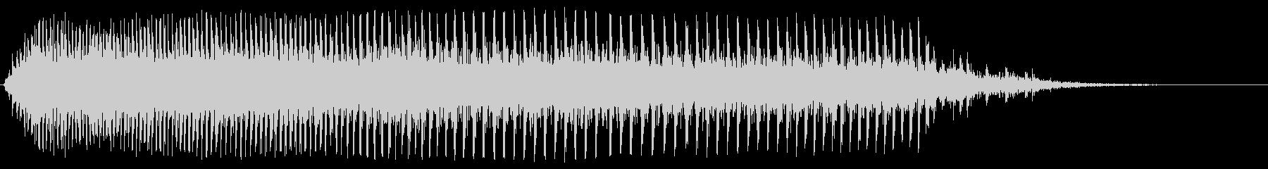 ギー(古い木製のドアが閉まる音)の未再生の波形