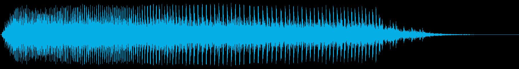 ギー(古い木製のドアが閉まる音)の再生済みの波形