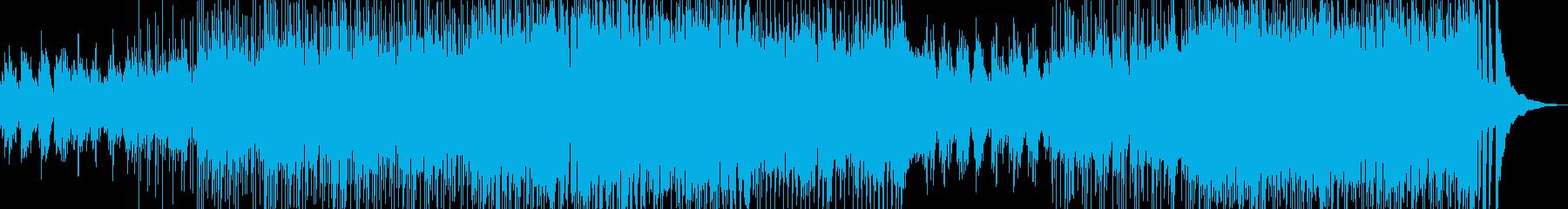 明るく前向きなアコースティックポップの再生済みの波形