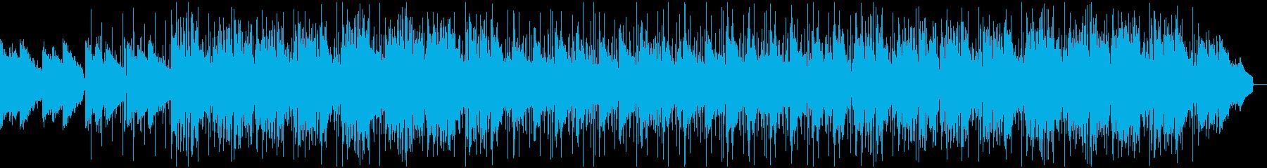 トランペットのリードとブレイクビー...の再生済みの波形