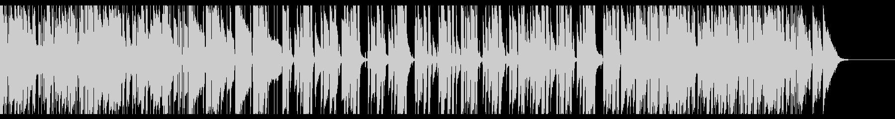 アコギとピアノの明るいポップス 生演奏の未再生の波形