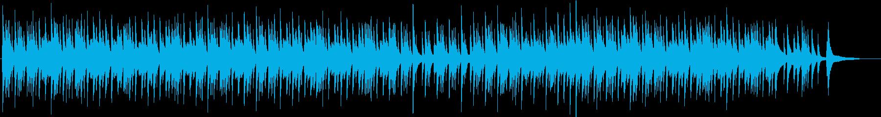 切なく和を感じさせるピアノソロBGMの再生済みの波形