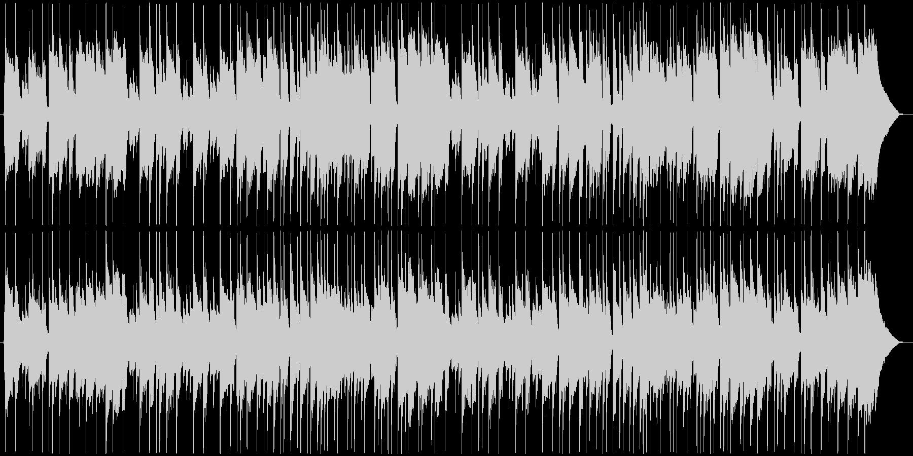 朝っぽいBGMの未再生の波形