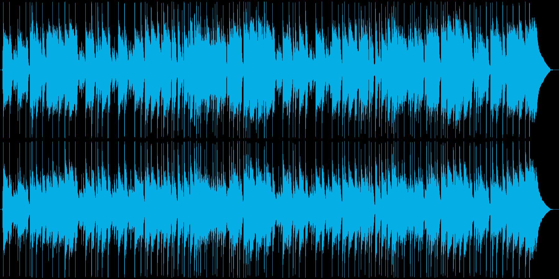 朝っぽいBGMの再生済みの波形