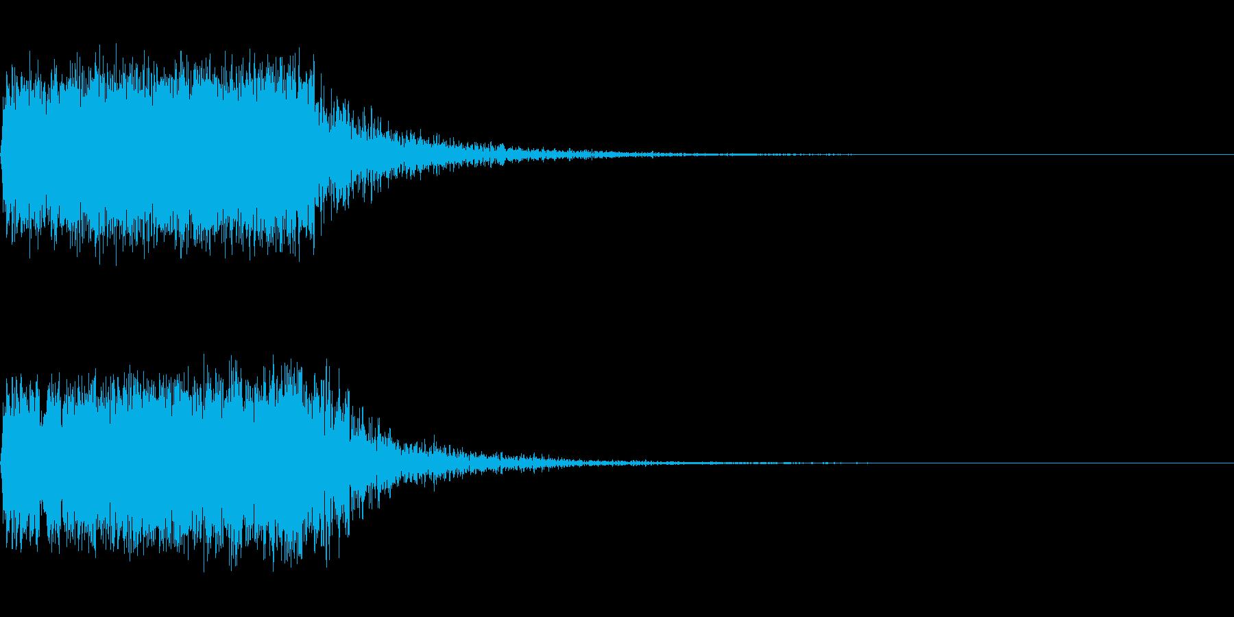 ショット_その11の再生済みの波形