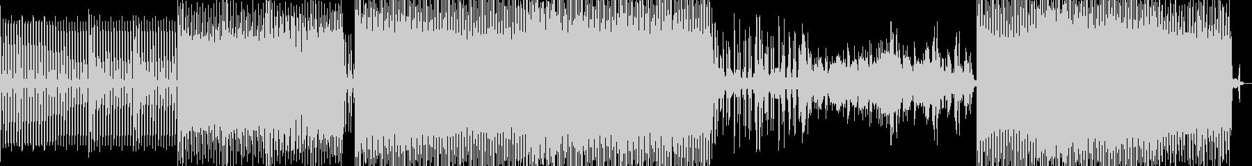アシッドジャズの雰囲気漂うアンビエントの未再生の波形