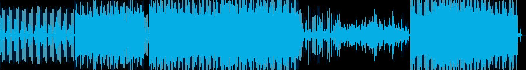 アシッドジャズの雰囲気漂うアンビエントの再生済みの波形