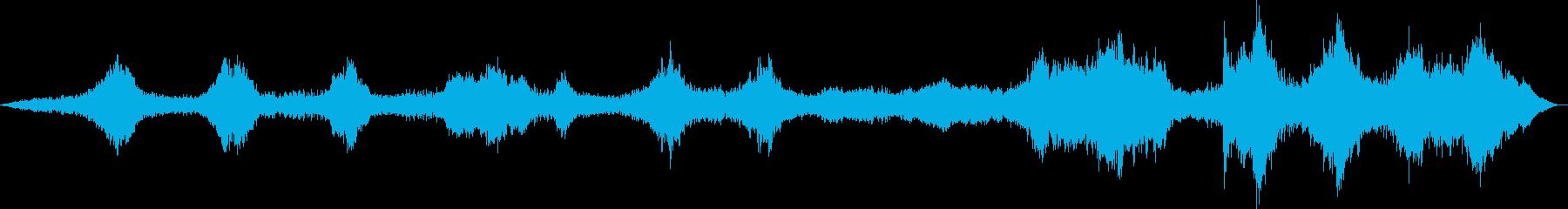 周囲の空気のような音がオーケストラ...の再生済みの波形