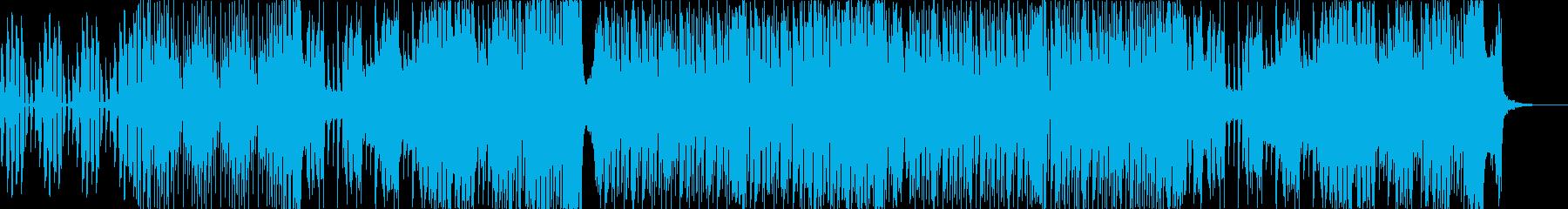 悪そうな感じのベースハウス(声ネタ無し)の再生済みの波形