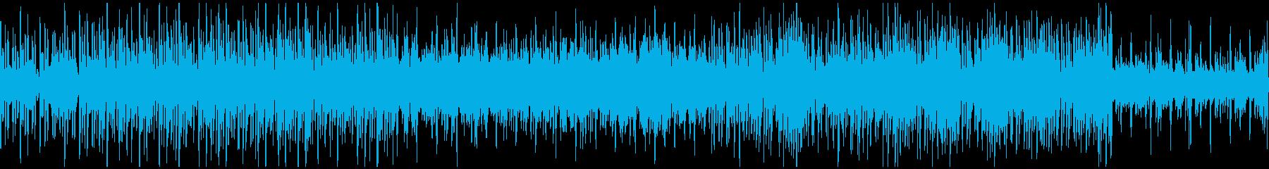 キレイめで少しオシャレなアップテクノの再生済みの波形
