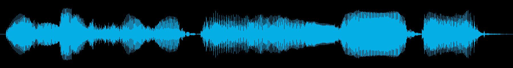 今すぐダウンロード (落ち着いた声)の再生済みの波形