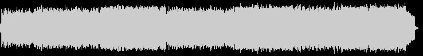 ピアノと管楽器によるほっこりジャズワルツの未再生の波形