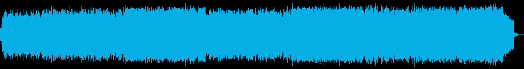ピアノと管楽器によるほっこりジャズワルツの再生済みの波形
