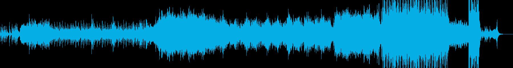 2人が結ばれる時・劇的なラストへ Bの再生済みの波形