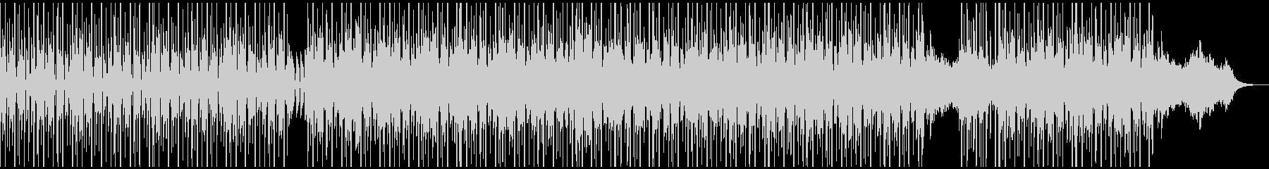 シンセとピアノを使ったクールなBGMの未再生の波形