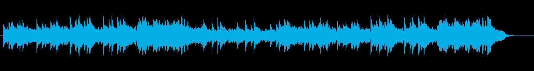 ピアノ・メロディー/ニューエイジ風の再生済みの波形