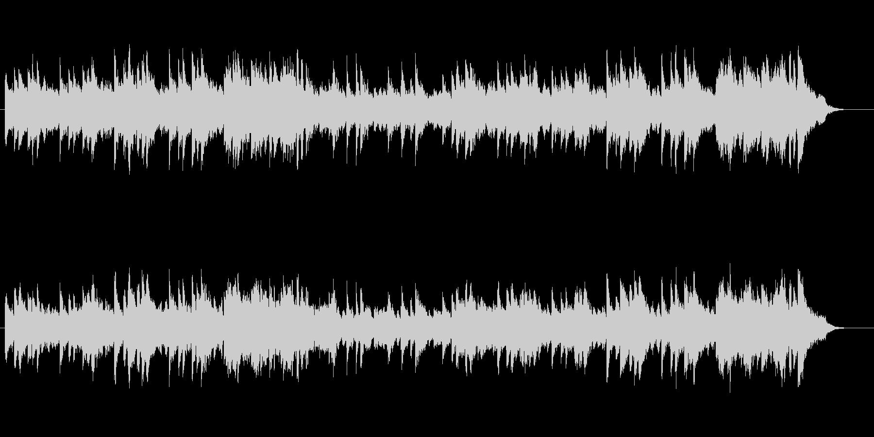 ピアノ・メロディー/ニューエイジ風の未再生の波形