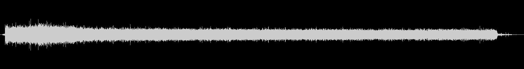 水 シンクフィルハードロング01の未再生の波形