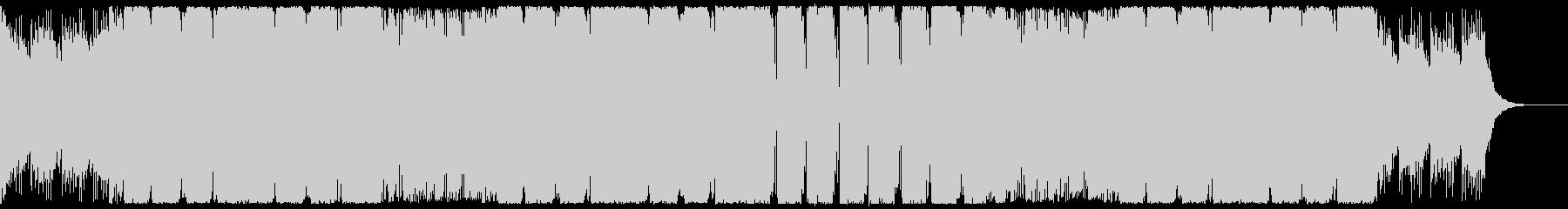 パワフルで重厚なEDM CM・映像等にの未再生の波形