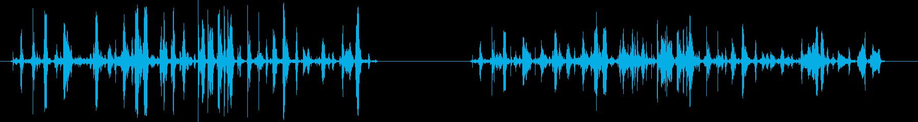 ファイトシーン-2バージョン-処理...の再生済みの波形