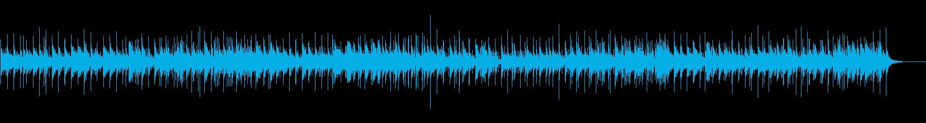 少し憂鬱なポップボサノバの再生済みの波形