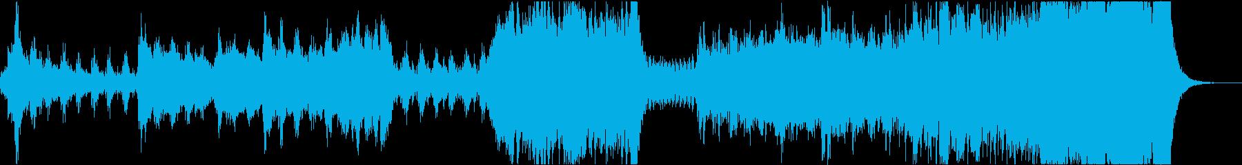 ハリウッド風オーケストラバトル曲/ブラスの再生済みの波形
