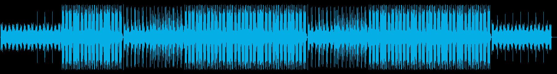 哀愁感、切ない響きのR&B(ボーカル抜きの再生済みの波形
